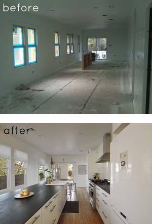 Case ristrutturate prima e dopo