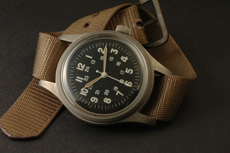 Hamilton Khaki Field Officer Mechanical 0256