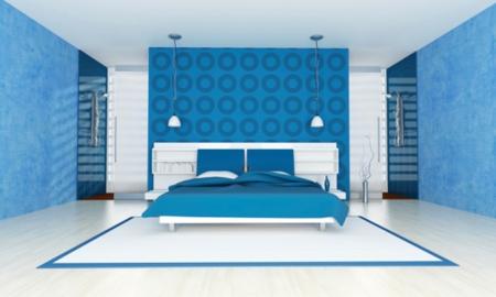 b timent brique motif peinture mur chambre. Black Bedroom Furniture Sets. Home Design Ideas