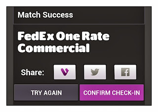 FedEx, FedEx One Rate, Santa Clause, Coal, Viggle, Viggle Mom