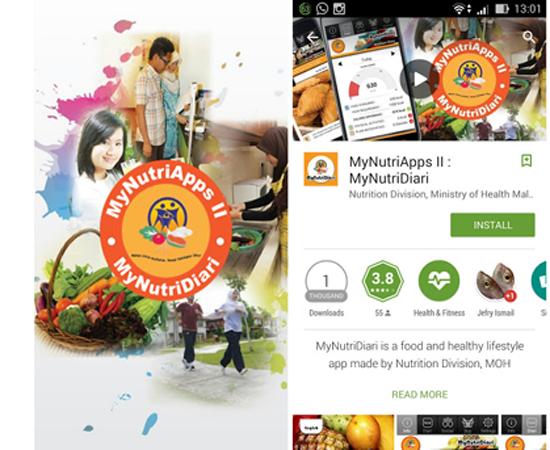 MyNutriDiari - Aplikasi Kawal Pemakanan Seharian