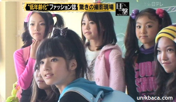 Anak SD Jepang Cepat Tumbuh Payudara