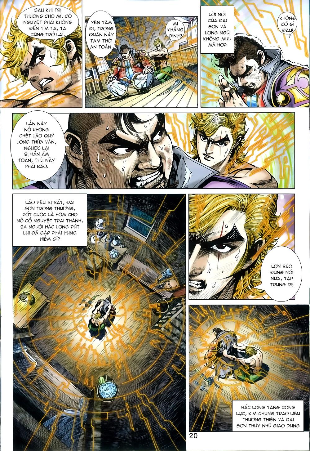Tân Tác Long Hổ Môn chap 812 Trang 20 - Mangak.info