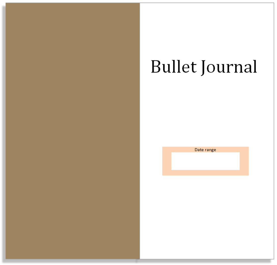 My Life All in One Place: Free Bullet Journal insert for your Midori ...