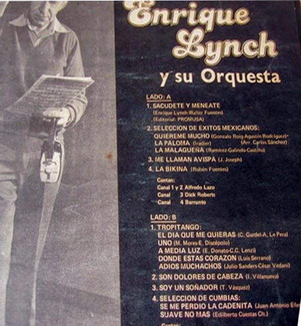 Enrique Lynch Y Su Conjunto Fogoso Impacto