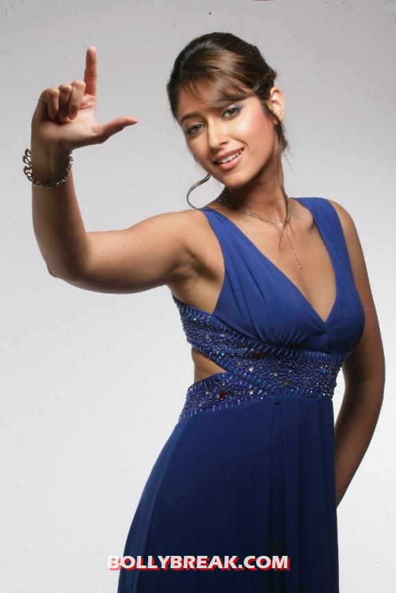 , Ileana Blue Dress Photo Shoot