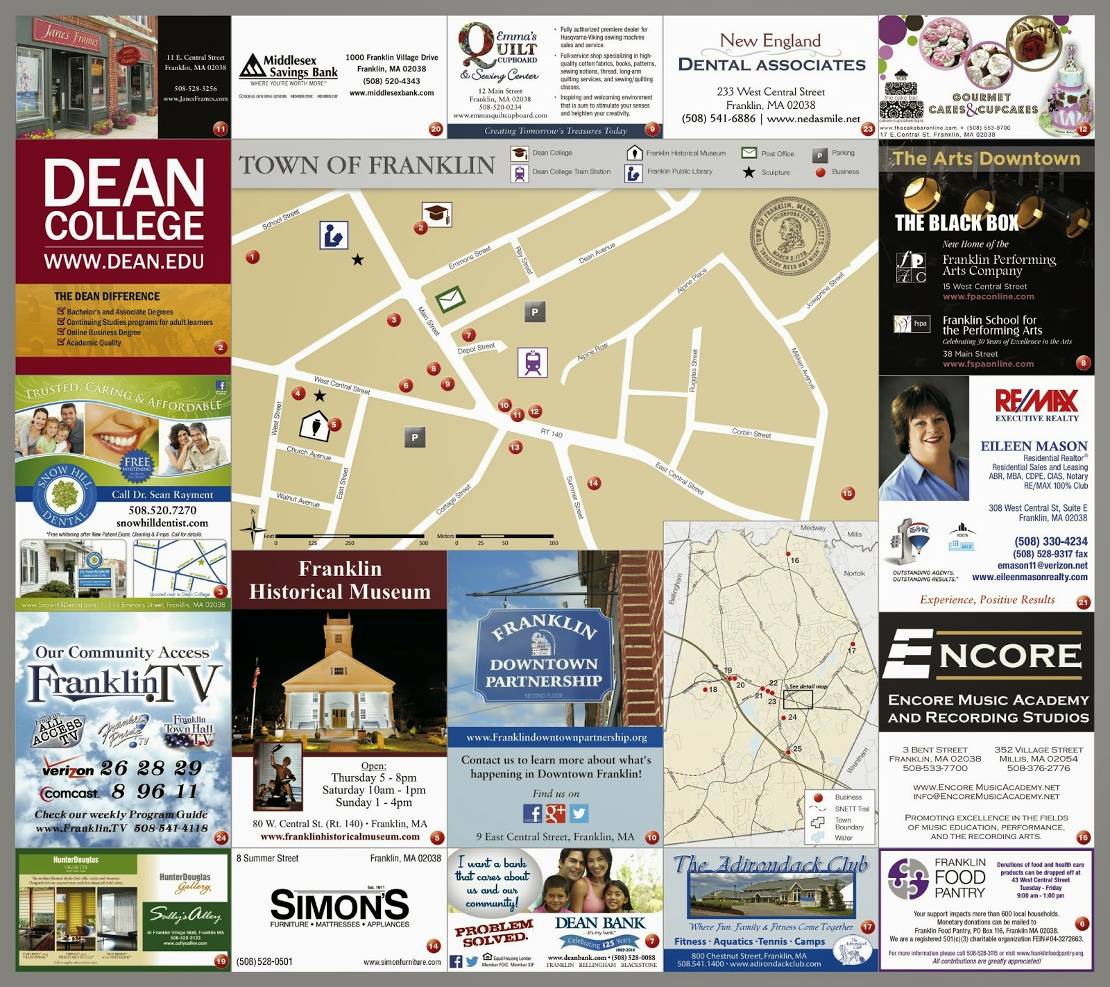 Franklin Downtown Partnership brochure - p2