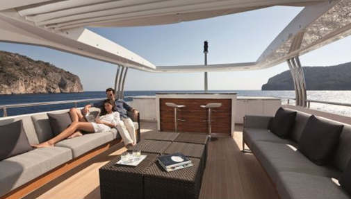 imperial princess yacht luxury cruising vessel sundeck