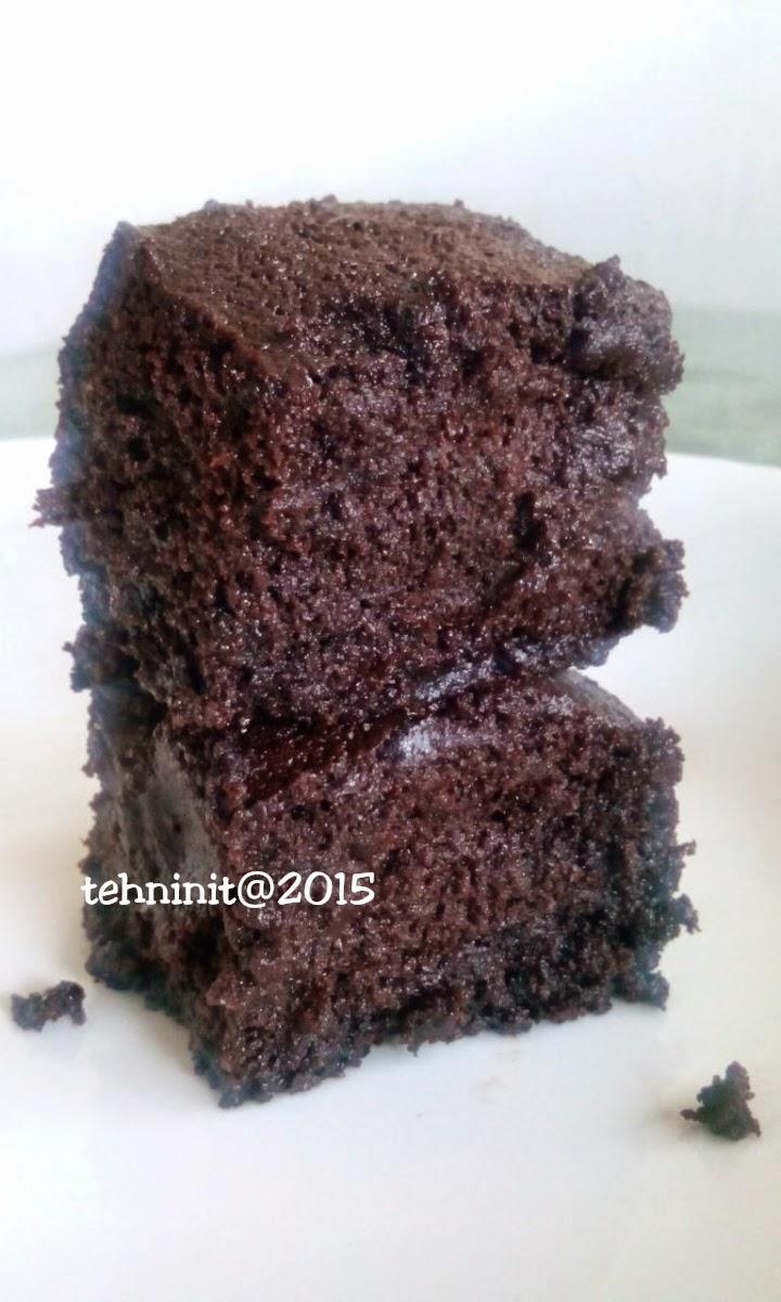 brownies panggang tepung beras