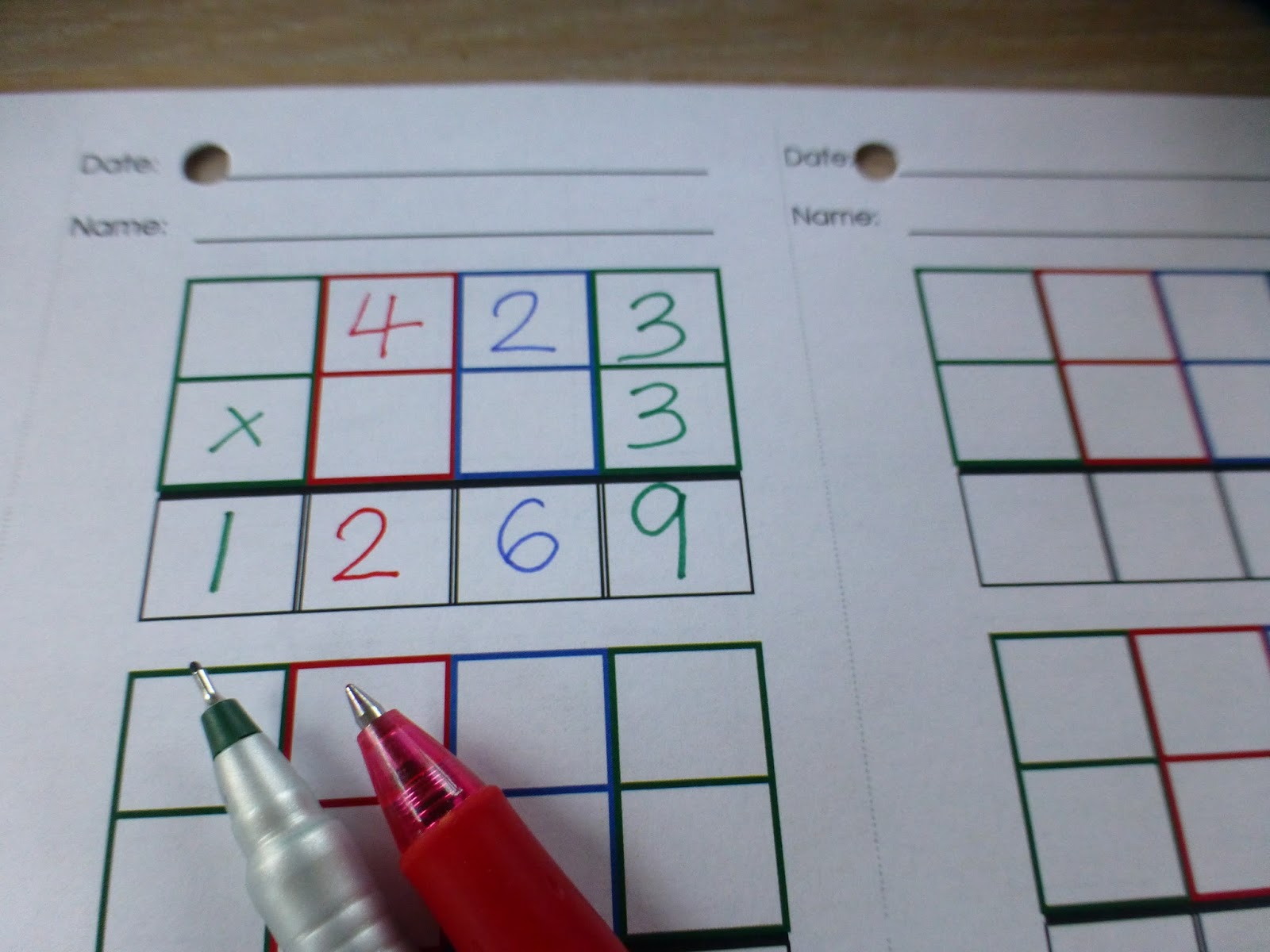 Family FECS: Montessori Activity: Small Bead Frame - Dynamic ...