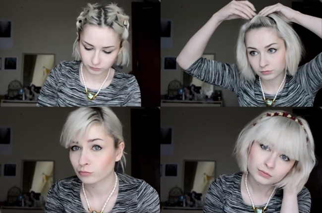 15 Simple Heat Free Hairstyles For Short Hair