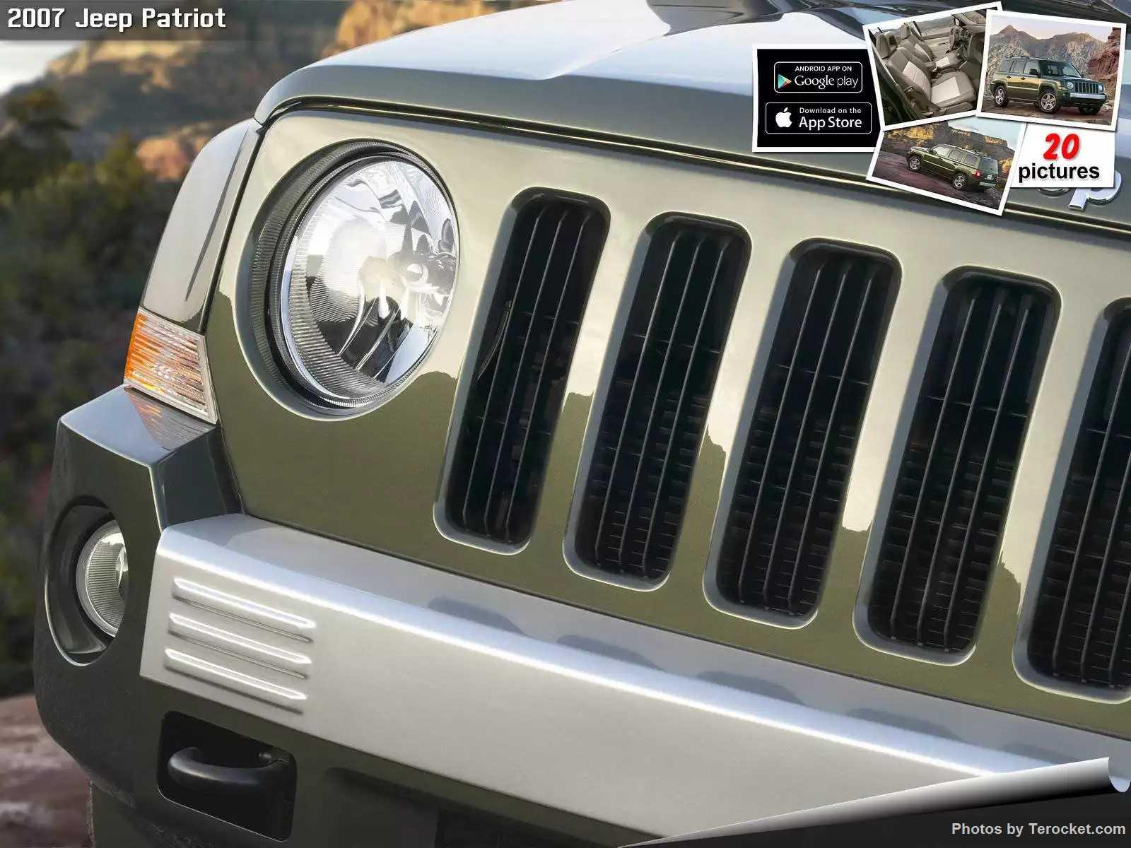 Hình ảnh xe ô tô Jeep Patriot 2007 & nội ngoại thất