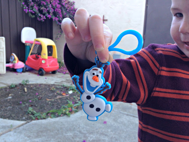 Subway Walmart FROZEN Olaf keychain #FrozenFun #shop #cbias