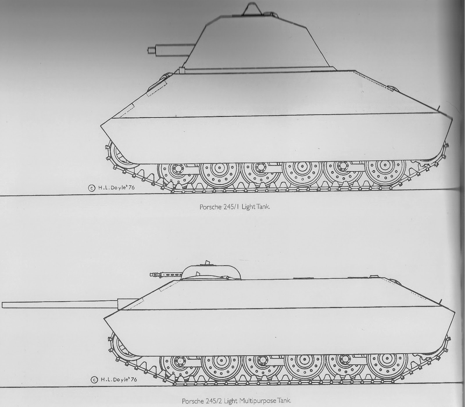 Zxhistory Maybach Engine Diagram In 1944 As The War Went On And Need Of More Effective Assault Guns Ensued Porsche Created A New Design Family 271 Ton Special Vehicle Vi