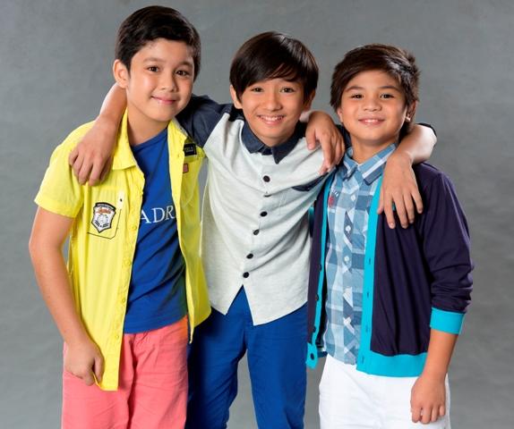 Dale Badillo, Nathaniel Britt and Bugoy Cariño