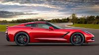 The 2014 Chevrolet Corvette Stingray side