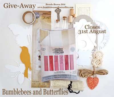 Giveaway 31/8/16