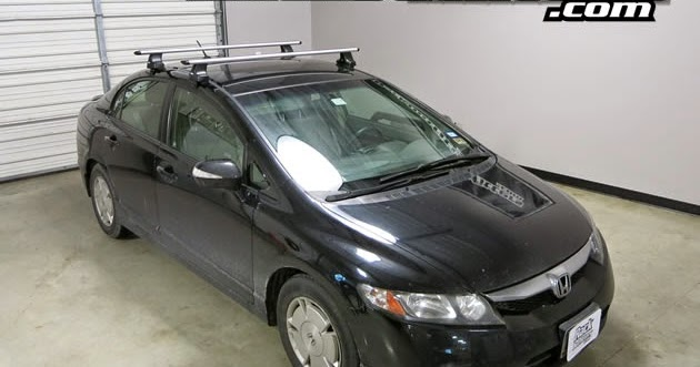 rack outfitters honda civic 4 door thule rapid traverse. Black Bedroom Furniture Sets. Home Design Ideas