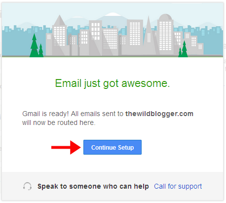 Email just go awesome