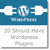 20 Useful Wordpress Plugin to use