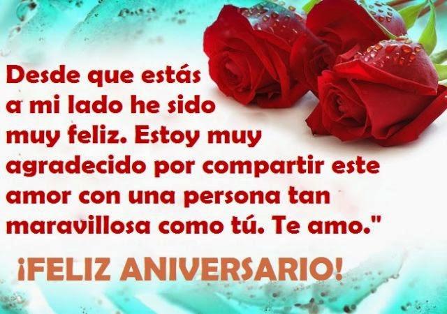Imagenes De Feliz Aniversario Con Frases De Amor Imágenes Ocaciones