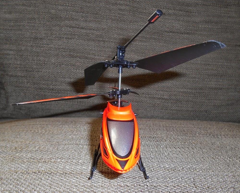 mini-helicóptero radio-control nincoair
