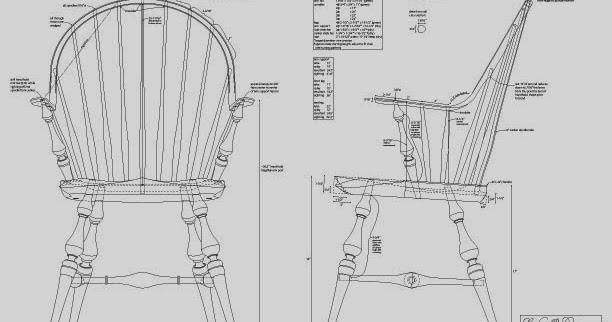 Caleb James Chairmaker Planemaker: Continuous Arm Windsor Chair Plans Are  Here