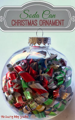 soda can ornament tutorial