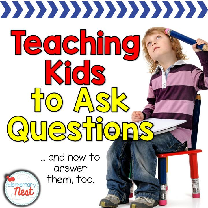 answering childrens questions Being able to ask and answer students' questions is an important part of teaching and learning asking questions helps you motivate students' curiosity about the topic and at the same time helps you.