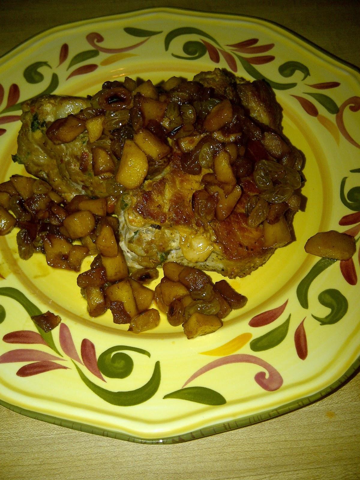 Stuffingtopped Pork Chops Inhouse Cook Stuffed Pork Chop With Sausage  Recipe