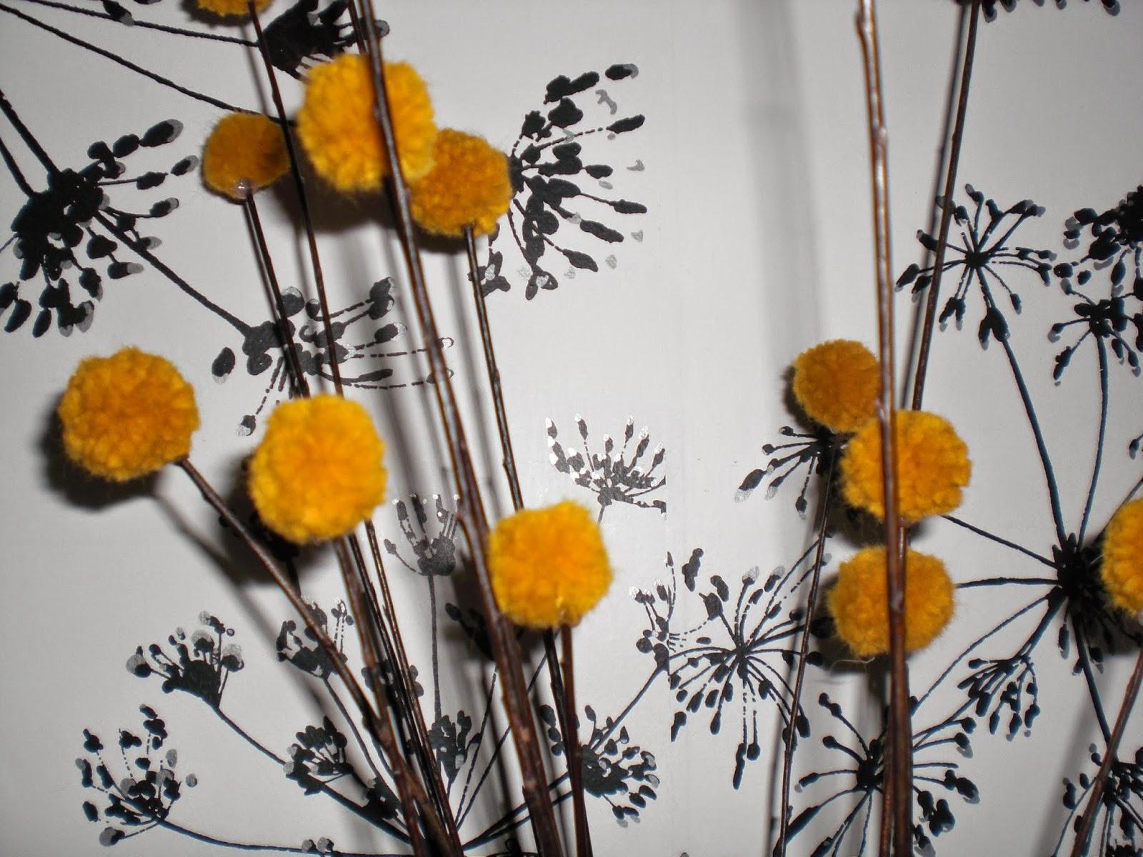 DIY vase med blomster