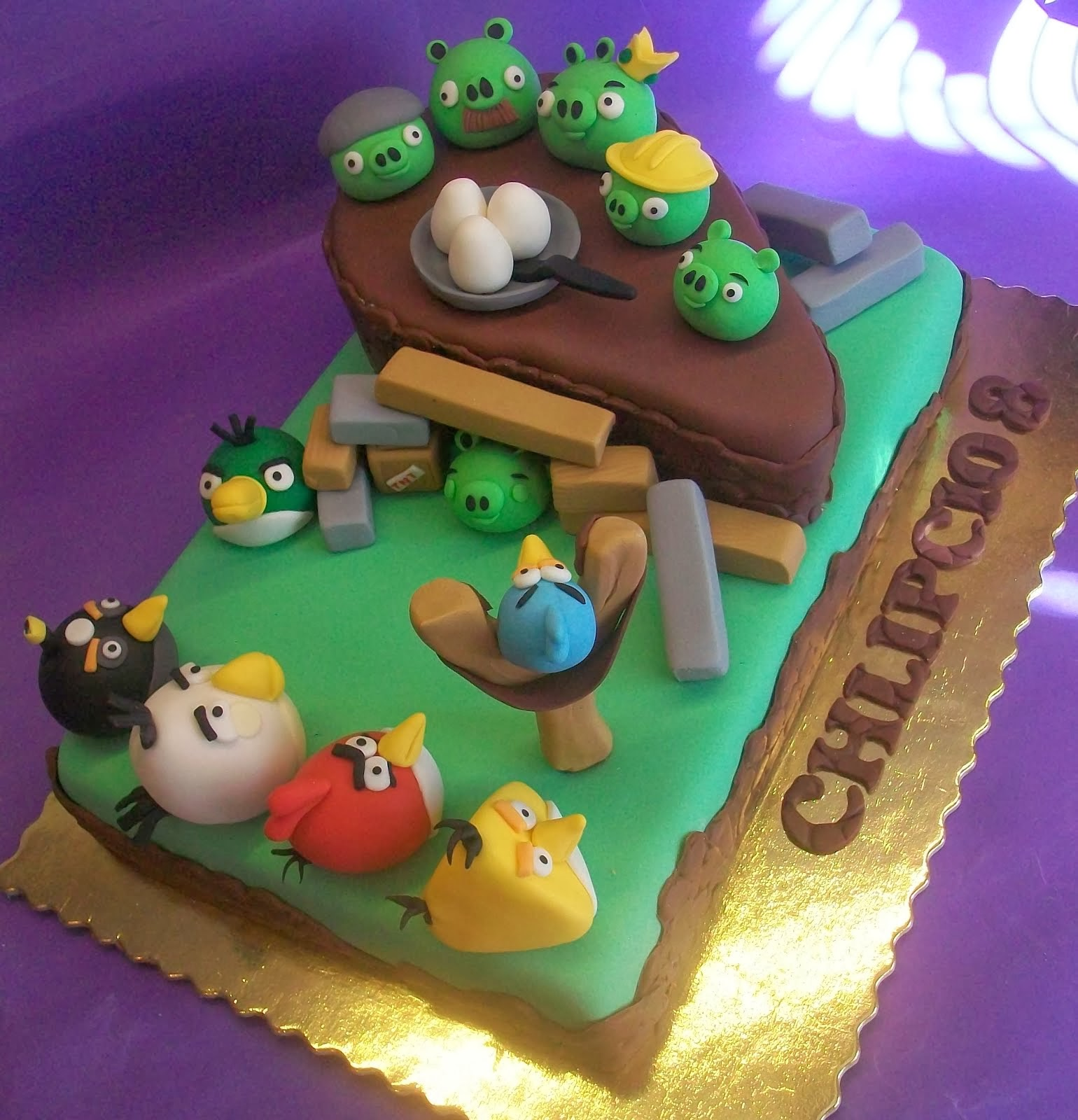 tort z  angry birds
