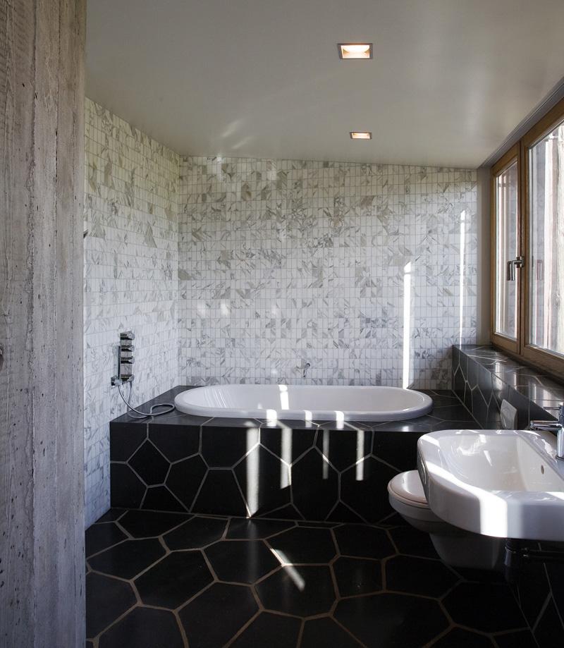 To Da Loos Tub Base Tuesday Modern Fred Flintstone - Fred's floor tile