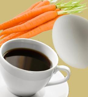 Fabula Zanahoria, Huevo o Café