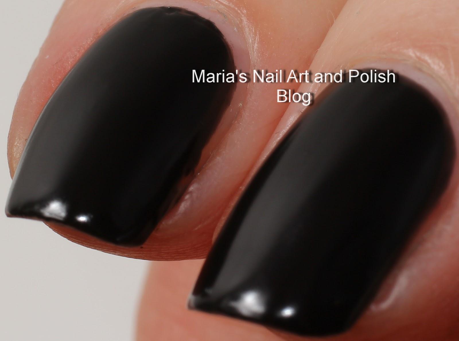 Marias Nail Art and Polish Blog: Chanel Black Velvet 430 Orient ...