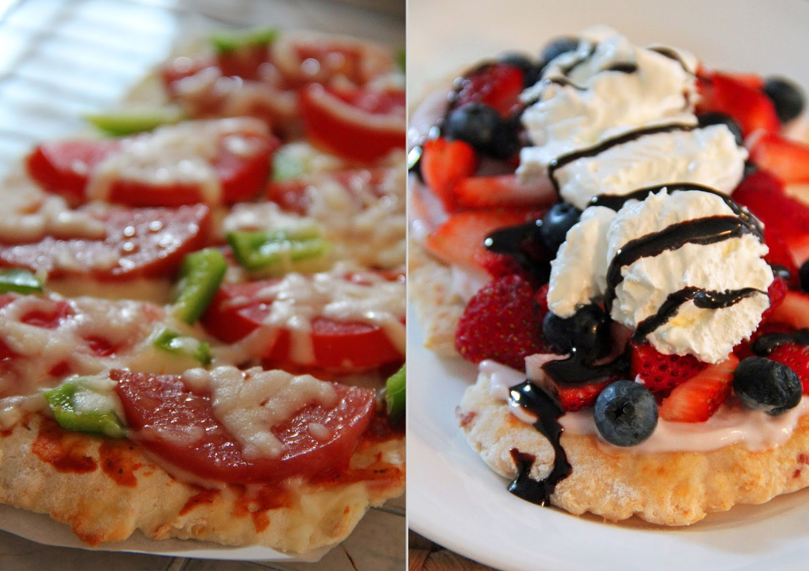 Jo and sue one dough 2 pizzas 1 sweet 1 savory single servings one dough 2 pizzas 1 sweet 1 savory single servings forumfinder Gallery