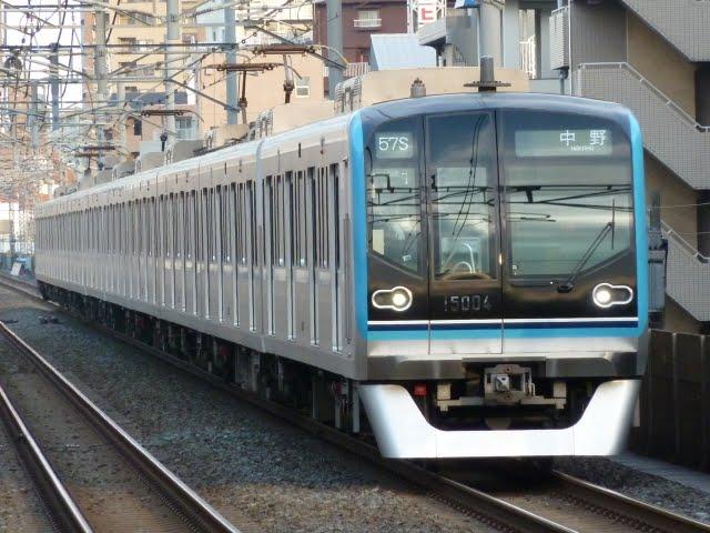 東京メトロ東西線 中野行き5 15000系