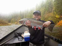 Salmon and steelhead fishing on the Klamath River with Ironhead Guide Service