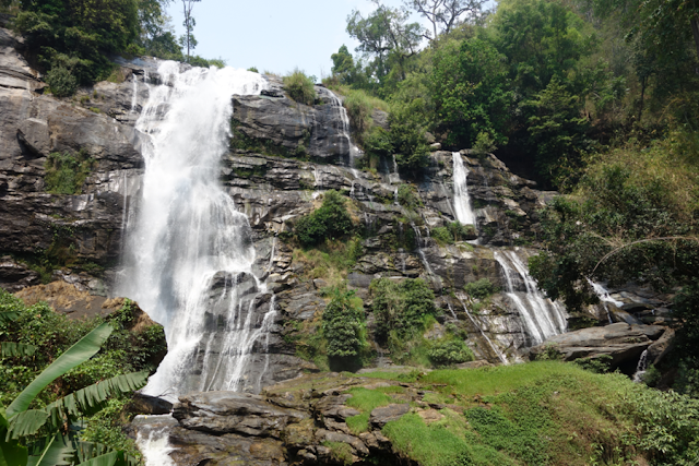 Thailand, Doi Inthanon, Chiang Mai, Waterfall, Nature