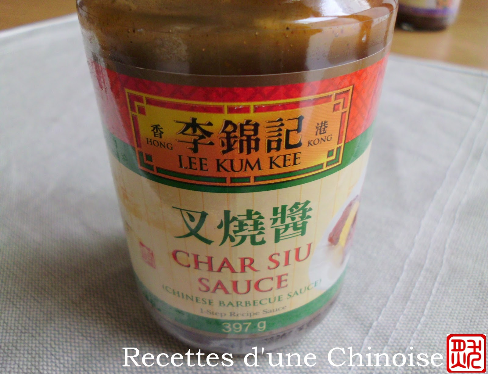 ajouté la sauce char siu achetée au magasin chinois, cette sauce ...