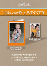 Winning Hallmark Card