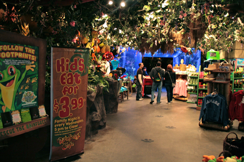 Yorkdale Mall Rainforest Cafe