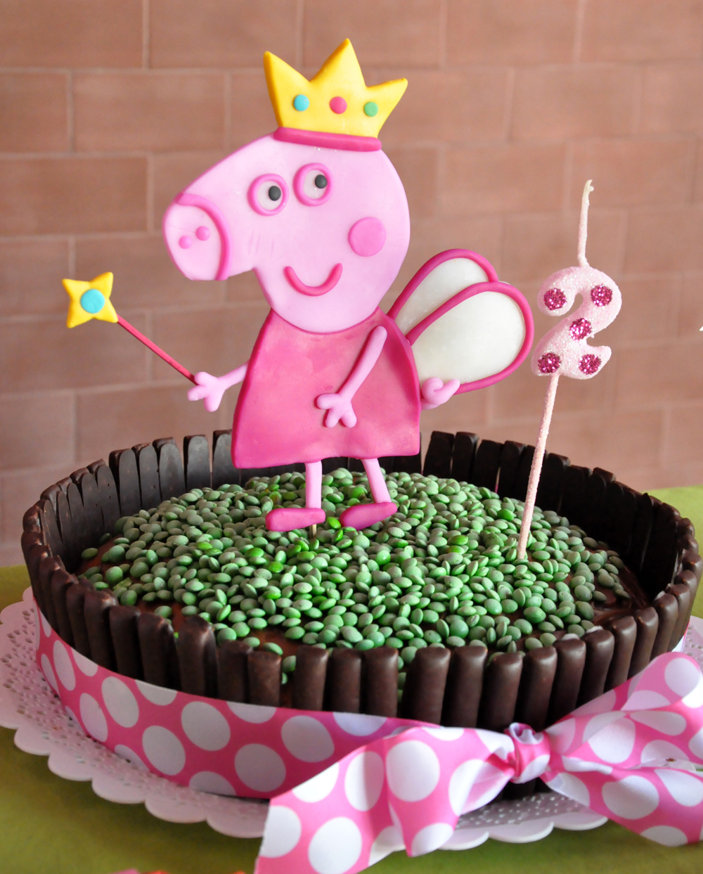 Decoraci n cumplea os peppa pig chica outlet for Decoracion de puertas para cumpleanos