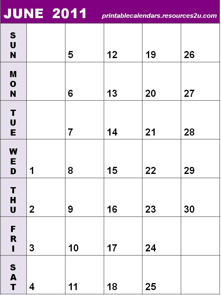Calendar Vertical : Calendar vertical