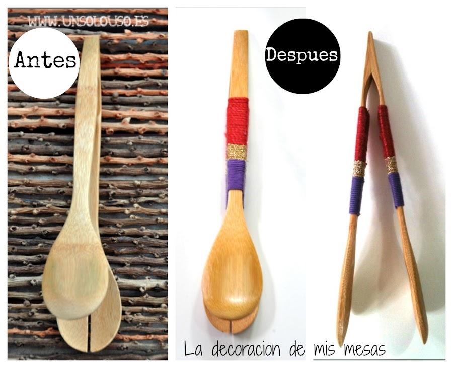 Personalización del cubiertos de madera, ¡DIY sencillo!
