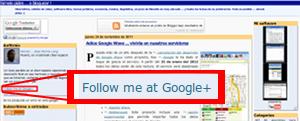 Enlazando mi blog con mi perfil de Google+