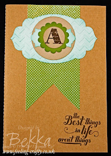 Epic Day / Feel Goods Notebook for a man by Stampin' Up! Demonstrator Bekka Prideaux
