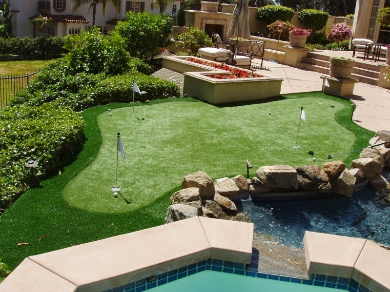 Artificial Golf Green Backyard