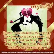 El amor es un sentimiento muy especial, tan especial que nos lleva a hacer . (imã¡genes para el dãa del amor amistad )