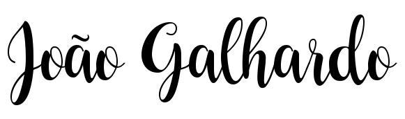 João Galhardo - Blog